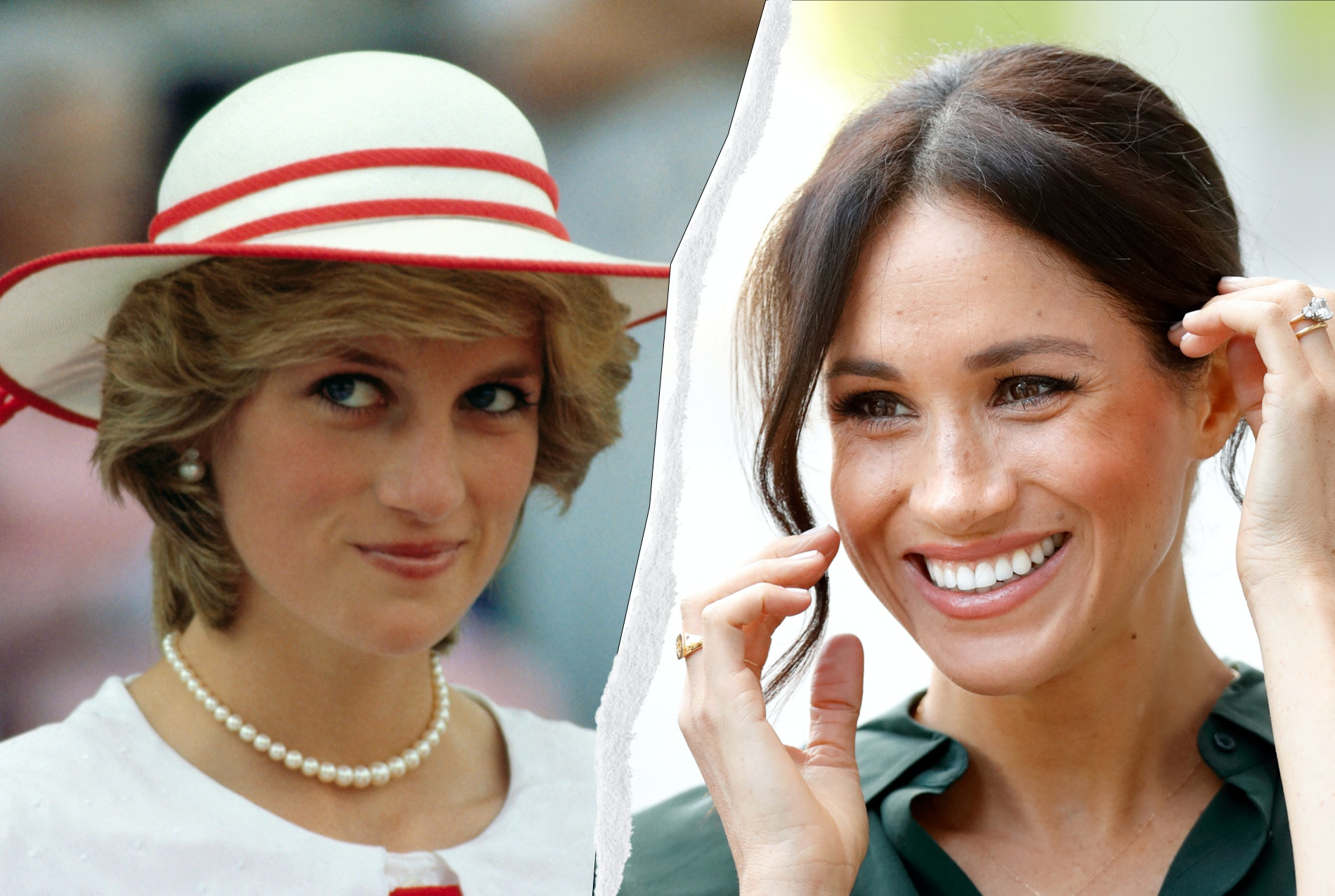 meghan markle wore princess diana s watch in her portrait meghan markle wore princess diana s