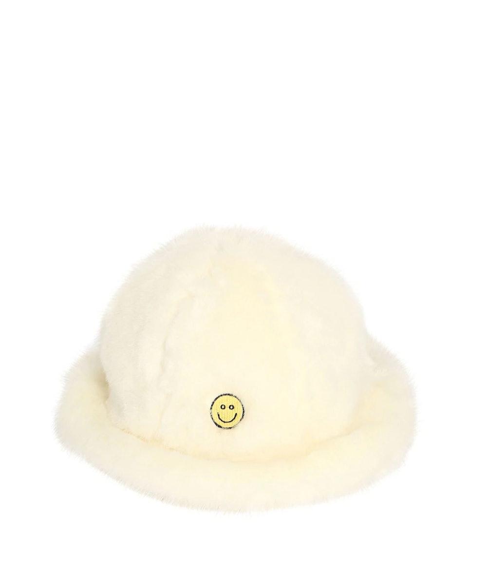 Smile Faux Fur Hat