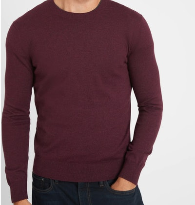Maroon Crew-Neck Sweater