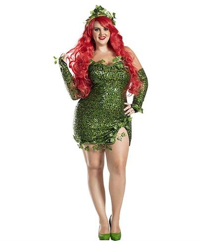 Party King Women's Plus-Size Poisonous Villain Adult Costume