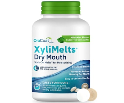 OraCoat XyliMelts Dry Mouth Relief Tablets (100-Count)