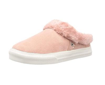 Minnetonka Women's Suede Slip-On Sneakers