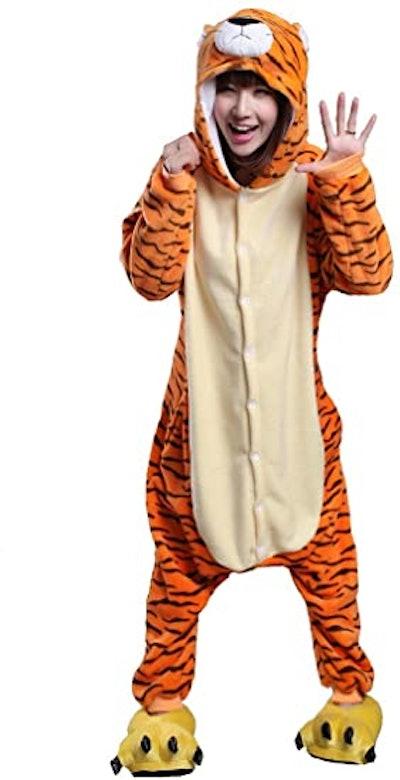 Honeystore Unisex Tiger Halloween Costume