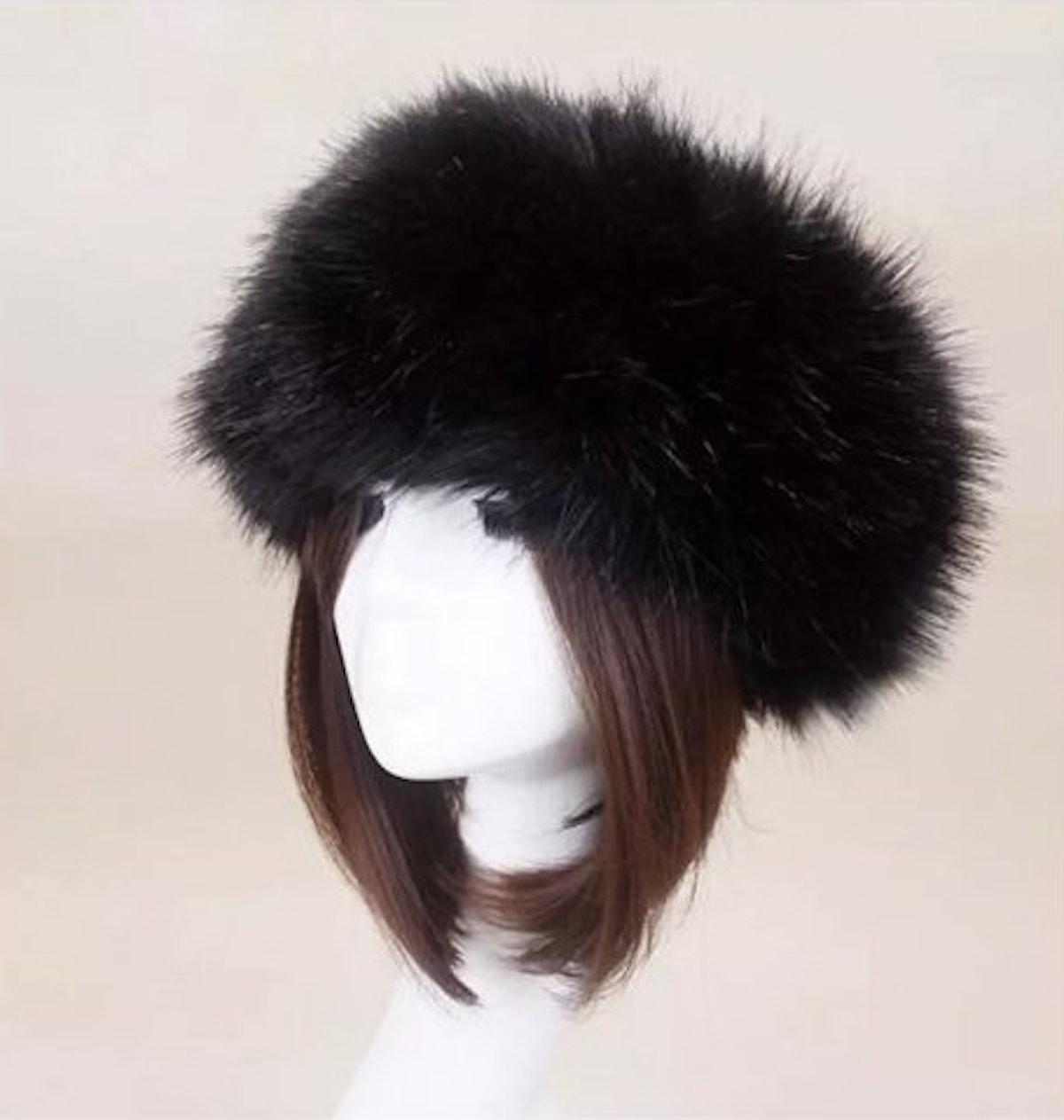 Fluffy Russian Faux Fur Hat