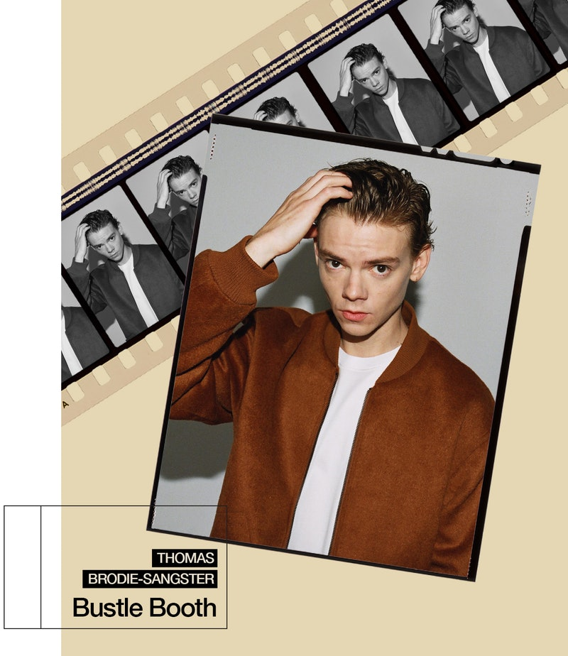 The Queen's Gambit star Thomas Brodie-Sangster.
