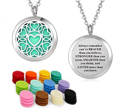 YOUFENG Essential Oil Necklace