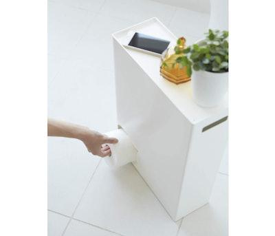 YAMAZAKI Toilet Paper Storage Organizer and Dispenser