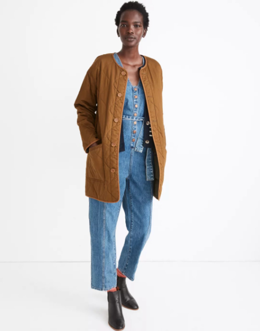 Reversible Quilted Liner Jacket