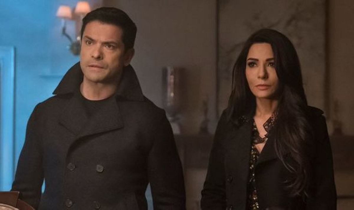 Hermione and Hiram on 'Riverdale'