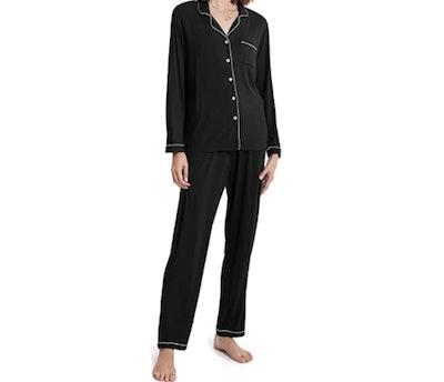 SIORO Soft Modal Long-Sleeve Pajama Set