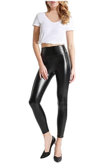 Tagoo Faux Leather Pants