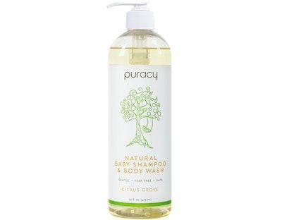 Puracy Natural Baby Shampoo & Body Wash (16 Oz.)