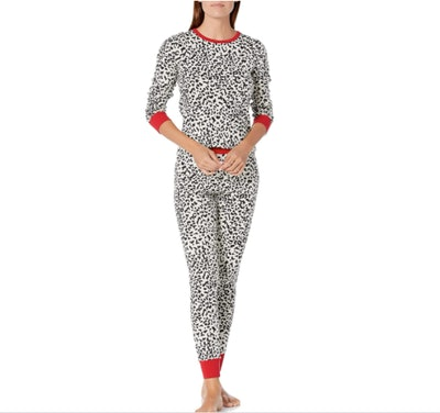 Amazon Essentials 100% Cotton Long-Sleeve Pajama Set