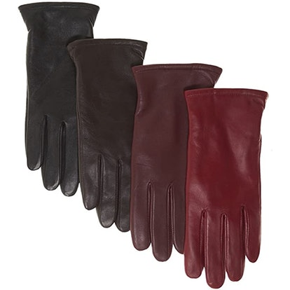 Pratt And Hart Broadway Thinsulate Lined Leather Gloves