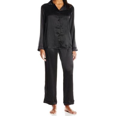 Fishers Finery Pure Mulberry Silk Pajama Set