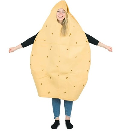 Bodysocks Adult Potato Fancy Dress Costume