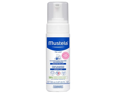 Mustela Cradle Cap Foam Shampoo (5 Oz.)