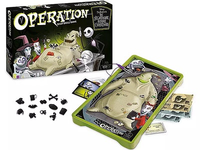 'The Nightmare Before Christmas' Operation game is a dream for Jack Skellington fans.