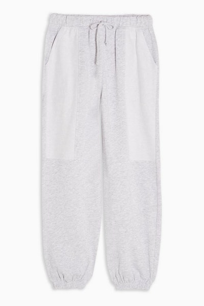 Topshop Reverse Brushed Joggers