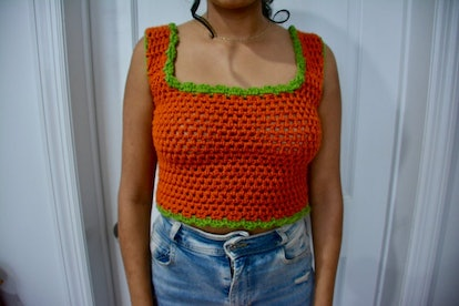 RhymesWithHappy Harry Styles Watermelon Sugar Music Video Inspired Crocheted Crop Top