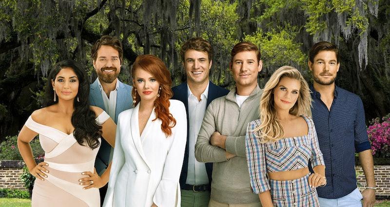 The cast of Southern Charm Season 7 via the Bravo press site