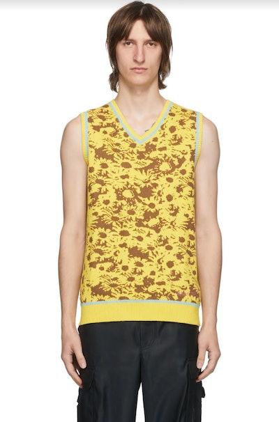 Floral Techno Vest