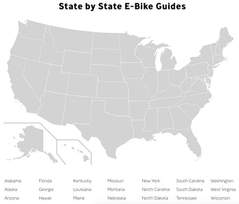 Super73 created an online portal with state-by-state laws for e-bikes.