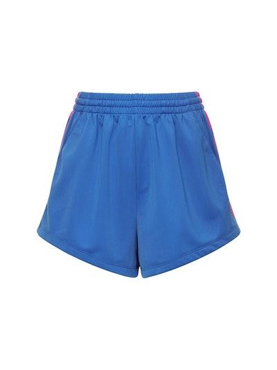 Adidas Originals Adicolor 3D Treefoil Cotton Sweat Shorts