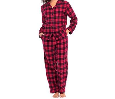 Alexander Del Rossa Cotton Flannel Pajama Set