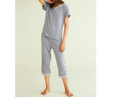 Latuza Capri Pants Pajama Set