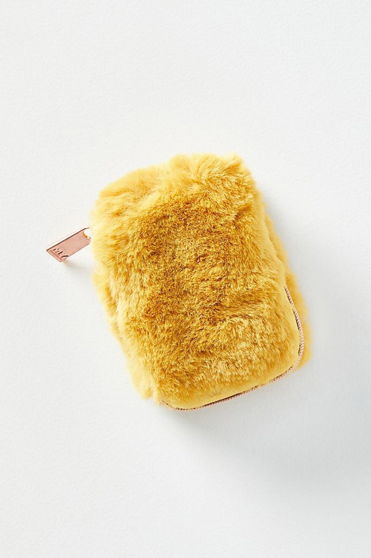 Faux Fur Earbud Case