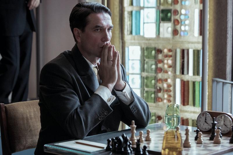 Marcin Dorocinski as Vasily Borgov in Netflix's 'The Queen's Gambit,' via the Netflix press site.