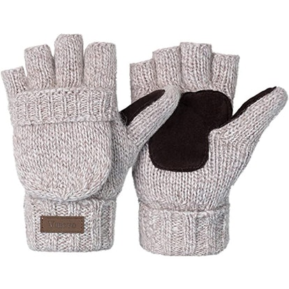Vigrace Knitted Convertible Mittens