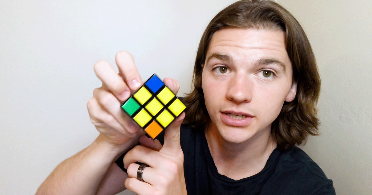 Joel Courtney Knows The Easiest Way To Solve A Rubik's Cube