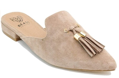 Beast Fashion Suede Mules