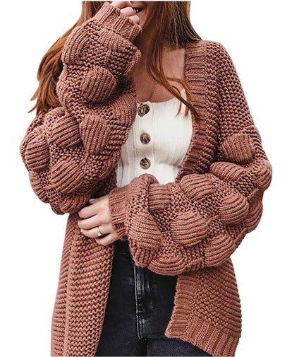 Ferbia Oversized Chunky Cardigan