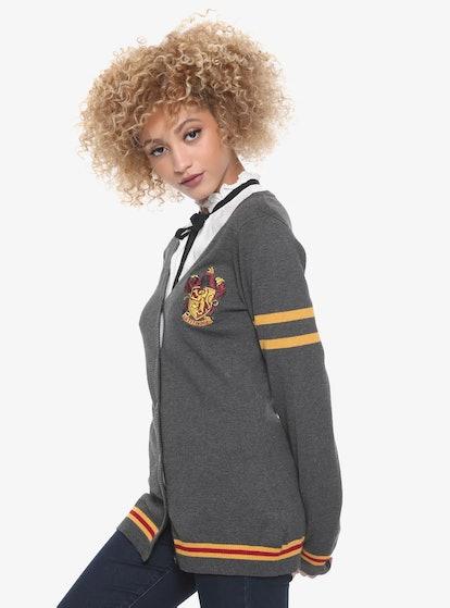 Hot Topic Harry Potter Gryffindor Girls Cardigan