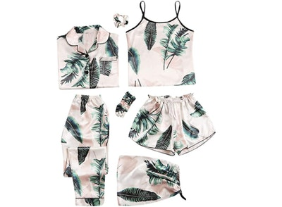 SheIn 7-Piece Pajama Set