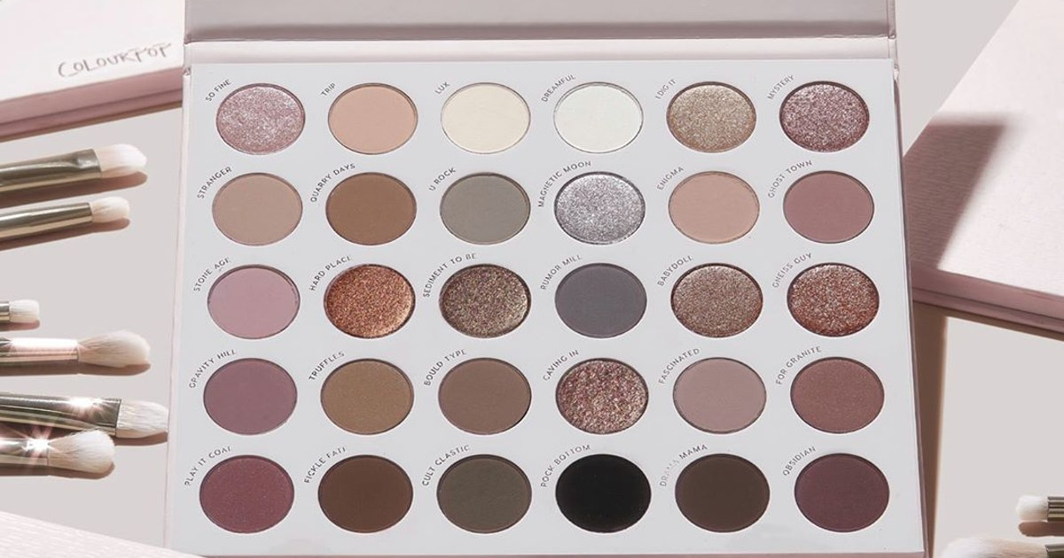 8 Eyeshadow Palettes & Beauty Products We're Eyeing From ColourPop's Site-Wide Sale