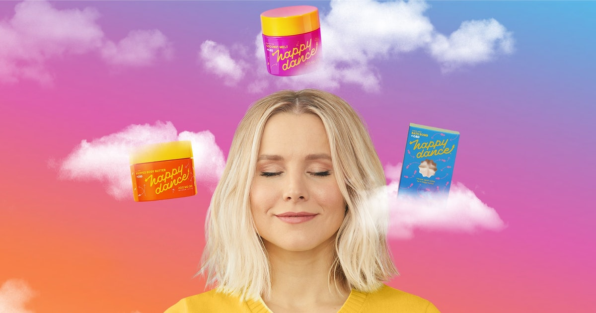 Kristen Bell's CBD Skincare Brand Is Here & It Lives Up To Its Sprightly Name