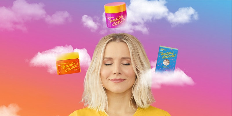 Kristen Bell's CBD skincare collaboration with Lord Jones, Happy Dance, is available now