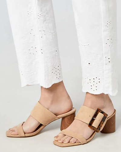 find. Buckled Block Heel