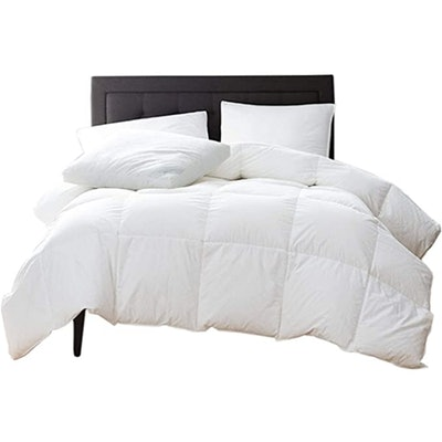 New York Mercado GOTS Certified 100% Organic Cotton Comforter (Full/Queen)