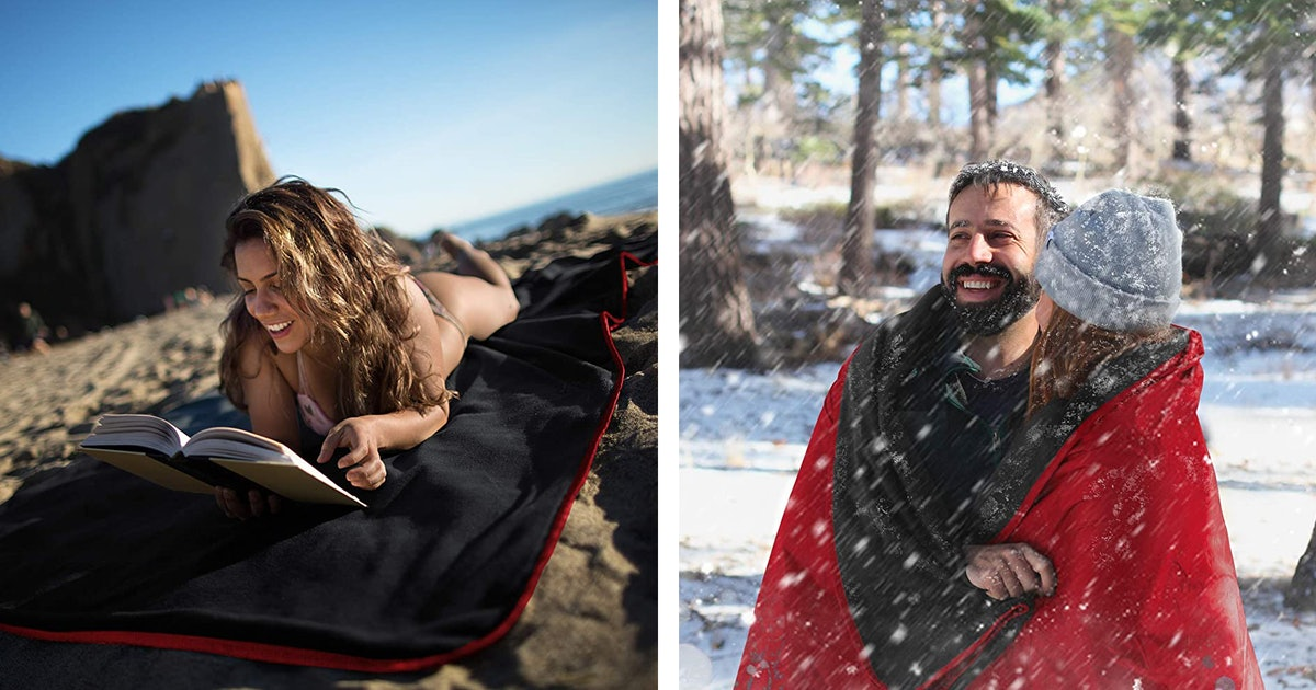 These Cozy, Waterproof Blankets Are Perfect For Spending Time Outdoors This Fall