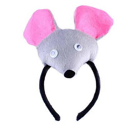 bbhoney Animals Cute Headband Party Costume Ear Headband Cosplay (Rat)