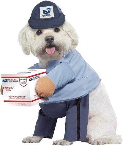 California Costumes Pet US Mail Carrier Pup Costume