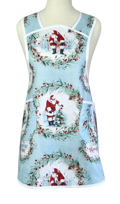 ApronsbyFiFi Christmas Apron with Plus Size Option