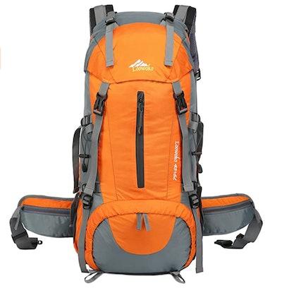 Loowoko Hiking Backpack with Rain Cover