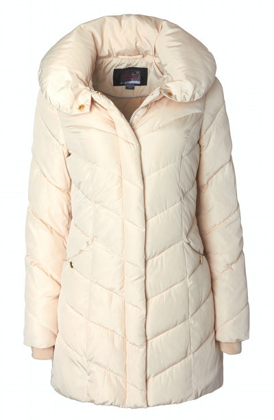 Quilted Puffer Jacket Coat with Hood