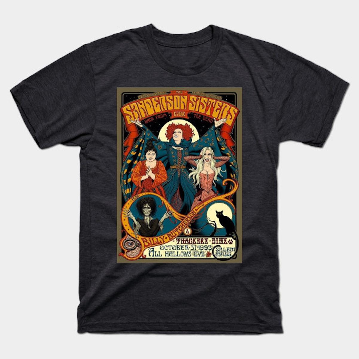 Teepublic Sanderson Sisters Hocus Pocus Vintage T-Shirt